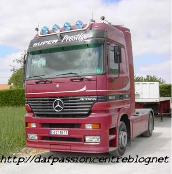 mercedes tracteur routier. Black Bedroom Furniture Sets. Home Design Ideas