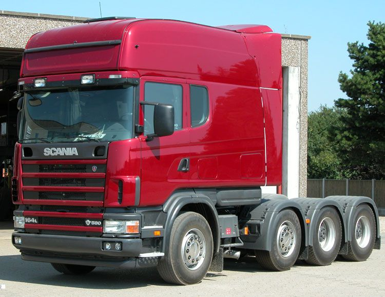 Scania long line scania ligne long for Interieur scania longline